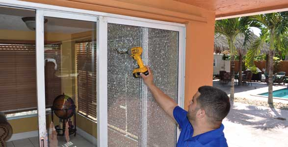 Glass Door Repair By Express Glass Board Up Services