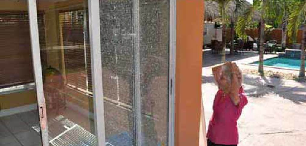how to say broken glass in french